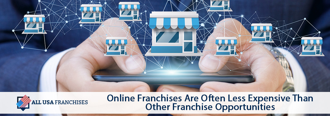Many Online Franchises Linked and Managed Through a Phone