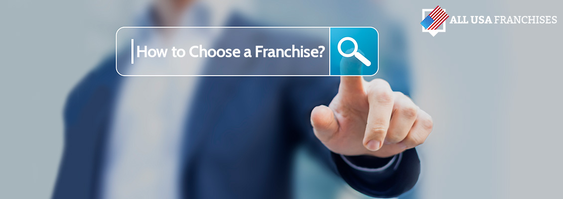 Picture of a Search Box and How to Choose a Franchise