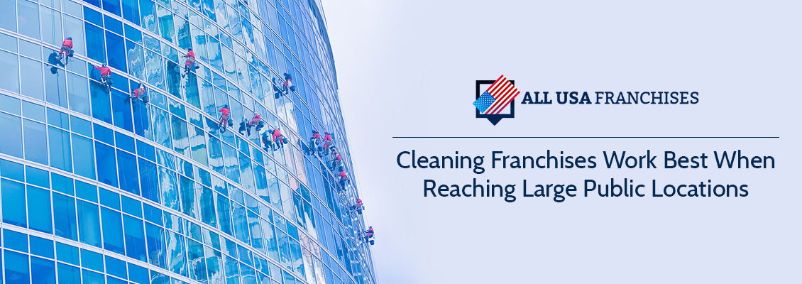 Cleaning Franchise Reaches Large Public Location