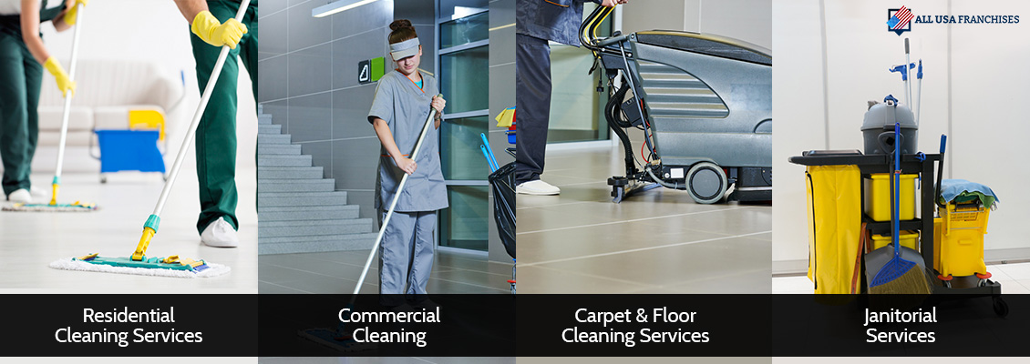 Types of Cleaning Franchises