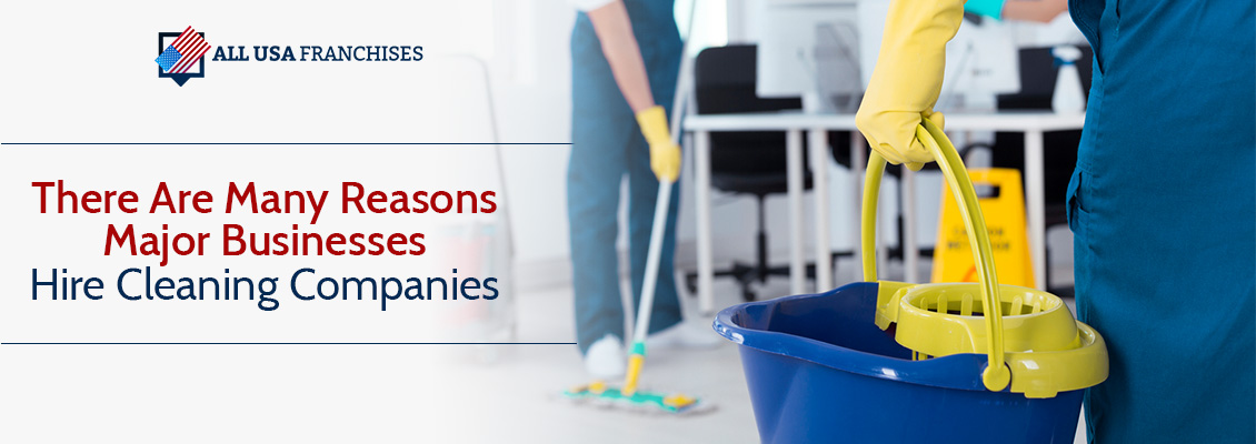 Major Businesses Outsource Cleaning